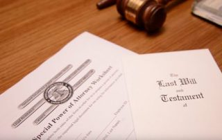 DIY last will and testament