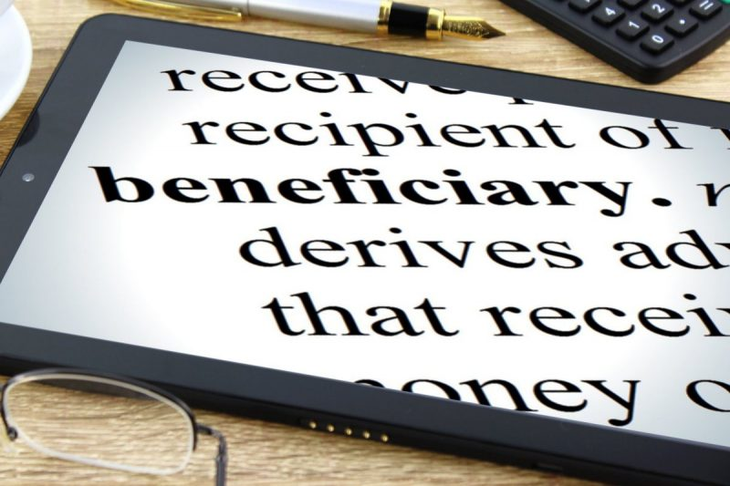 beneficiary defined tablet